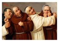 Claudio Rinaldi - Four Monks