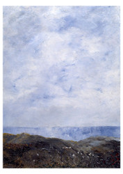 August Strindberg - Coastal Landscape