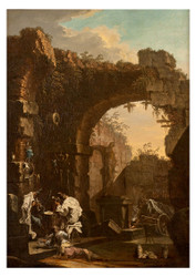 Alessandro Magnasco - Concert in the Ruins
