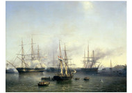 louis Meijer - Conquest of Palembang in Indonesia by General Baron de Kock