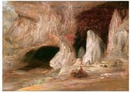 Conrad Martens - Stalagmite Columns at the Southern Entrance of the Burrangalong Cavern