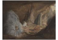 Conrad Martens - Stalagmites Burrangalong Cavern