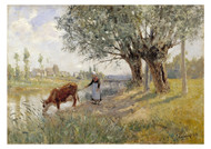 Carl Tragardh - Countryside near Grez sur Loing