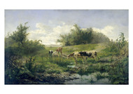 Gerard Bilders - Cow at a Pond