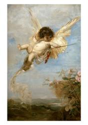 Julius Kronberg - Cupid
