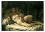 Adrien van der Werff - Cupid Kissing Venus