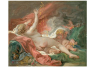 Francois Boucher - Danae and the Shower of Gold