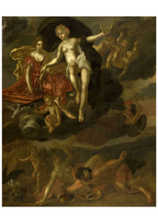 T van Malsen - Diana and Virtus Punish Venus and Bacchus