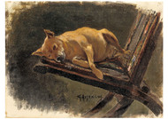 Georg Arsenuis - Dog Lying Down