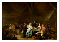 Jan Miense Molenaer - Drinking Bout in a Inn