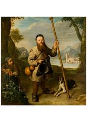 Peter Snijers - Dwarf in a Landscape
