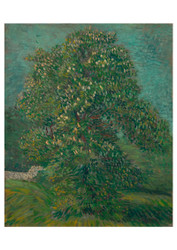 Horse Chestnut Tree by Vincent van Gogh