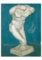Male Torso by Vincent van Gogh