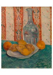Carafe and Dish with Citrus Fruit by Vincent van Gogh