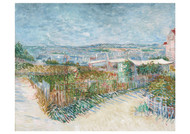 Montmartre, Behind the Moulin de la Galette by Vincent van Gogh