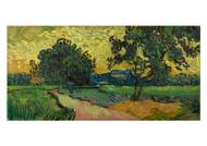 Landscape at Twilight by Vincent van Gogh