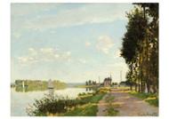 Argenteuil by Claude Monet Premium Giclee Print