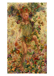 The Four Seasons - Fall  by Leon Frederic