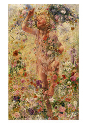 The Four Seasons - Spring  by Leon Frederic