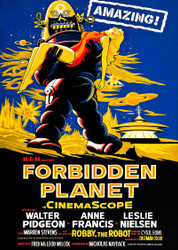 Forbidden Planet A Movie Poster