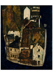 Dead City III (City on the Blue River III) by Egon Schiele