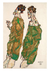 Devotion by Egon Schiele