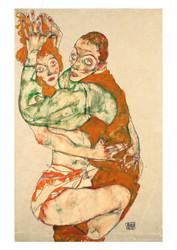 Lovemaking by Egon Schiele