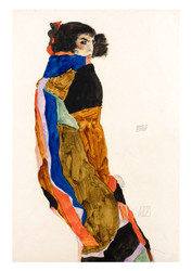 Moa by Egon Schiele