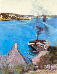 From McMahons Point by Arthur Streeton