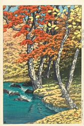 Autumn in Oirase