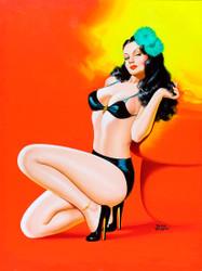 Beauty Magazine - Hot in Black
