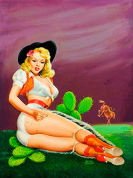 Flirt Magazine - Fallin' on the Cactus