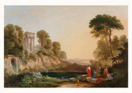Arcadian Landscape with Worshippers of Pan