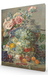 Still Life with Fruits and Flowers SC
