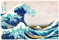 The Great Wave Offshore of Kanagawa by Katsushika Hokusai