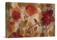 Exotic Garden Stretched Canvas