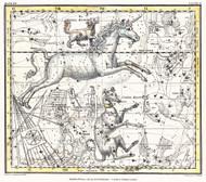 Jamieson Celestial Atlas Plate 25 1822 Map