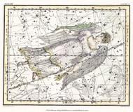 Jamieson Celestial Atlas Plate 18 1822 Map