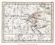 Jamieson Celestial Atlas Plate 14 1822 Map