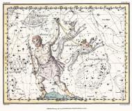 Jamieson Celestial Atlas Plate 7 1822 Map