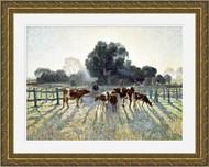 Spring Frost Gold Ornate Frame