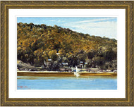 The Camp Sirius Cove Gold Frame