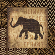 Elephant African Wild Border