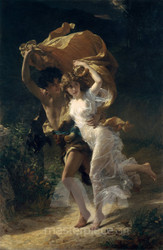 The Storm by Pierre-Auguste Cot Premium Giclee Print