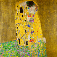 The Kiss by Gustav Klimt Premium Giclee Print