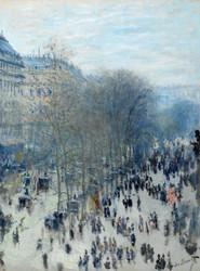 Boulevard des Capucines by Claude Monet Premium Giclee Print