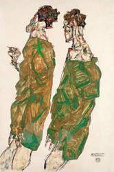 Devotion by Egon Schiele Premium Giclee Print