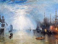 Keelmen Heaving in Coals by Moonlight by Joseph Mallord William Turner Giclee