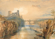 Barnard Castle by Joseph Mallord William Turner Premium Giclee Print