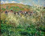 Flowering Plum Trees by Claude Monet Premium Giclee Print